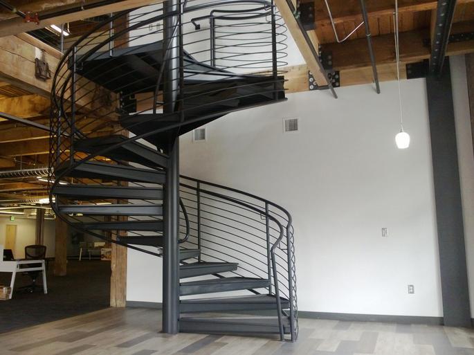 Northwest Stair, Spiral Stair Builders